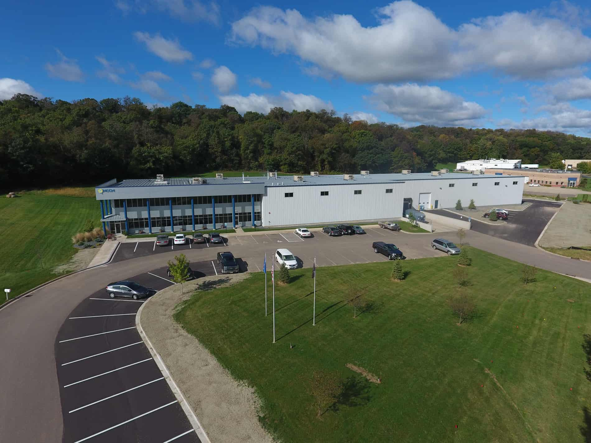 NCCM company of River Falls WI built by Derrick Building Solutions