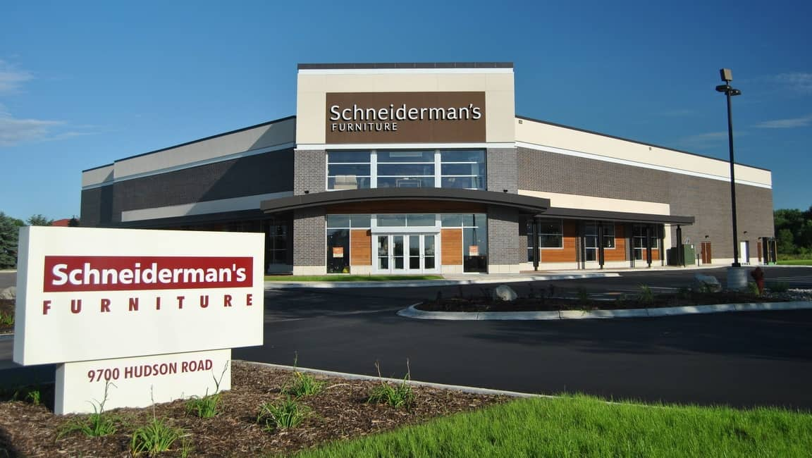 Schneiderman S Furniture Derrick Building Solutions