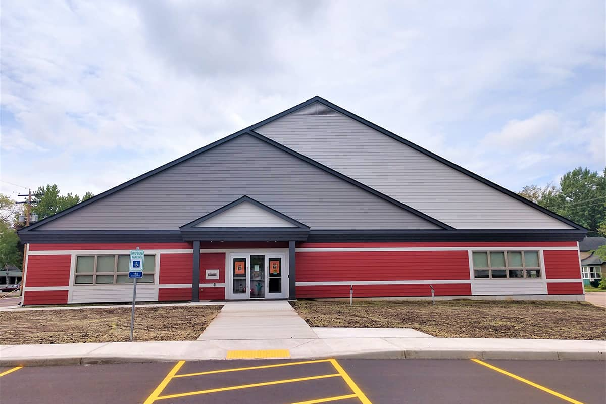 Somerset Public Library project by Derrick Building Solutions